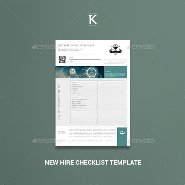 New Hire Checklist Template