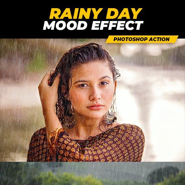 Rainy Day Mood Effect - Photoshop Action