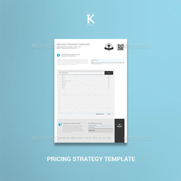 Pricing Strategy Template
