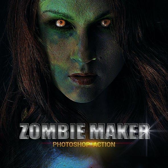 Zombie Maker Photoshop Action