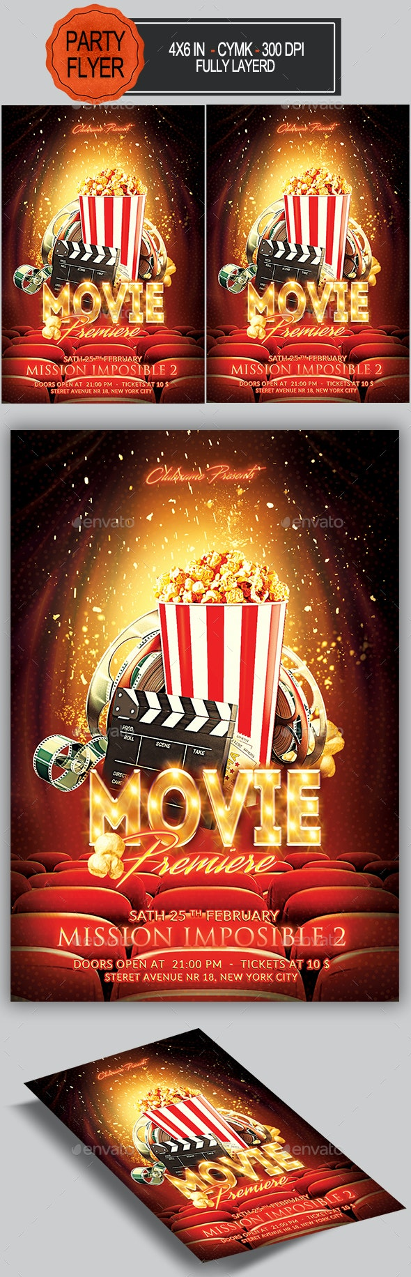 Movie Flyer - Miscellaneous Events
