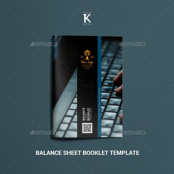 Balance Sheet Booklet Template