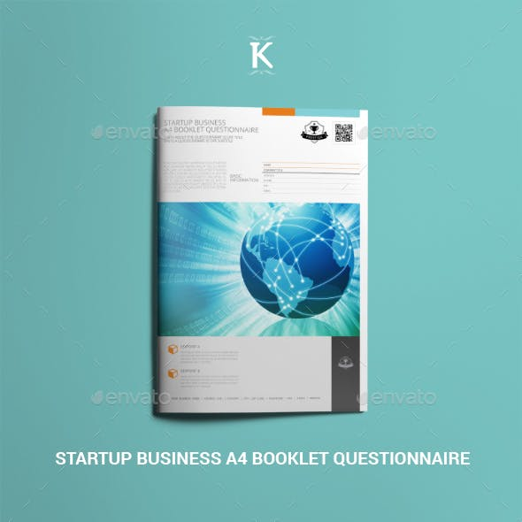 Startup Business A4 Booklet Questionnaire