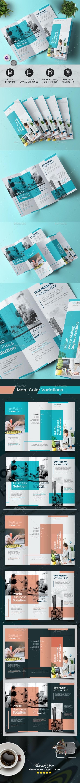 Minimal Tri-Fold Brochure - Corporate Brochures