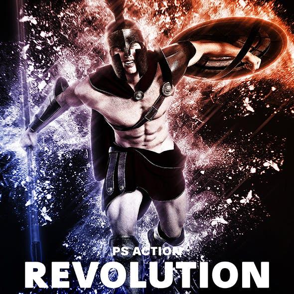 Revolution Photoshop Action