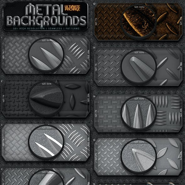 Metal Background Patterns