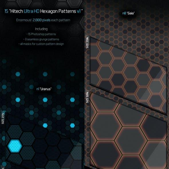 Ulta HD Hexagon Patterns v1