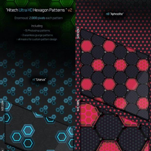 Ulta HD Hexagon Patterns v2