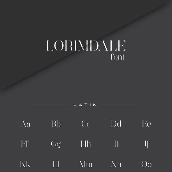 Lorimdale Font