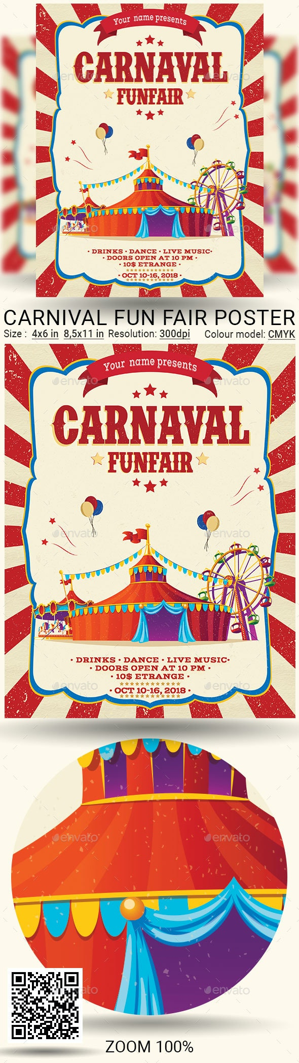 Carnival - Events Flyers