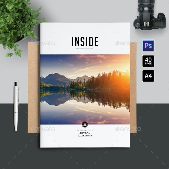 Simple Portfolio / Photobook Template