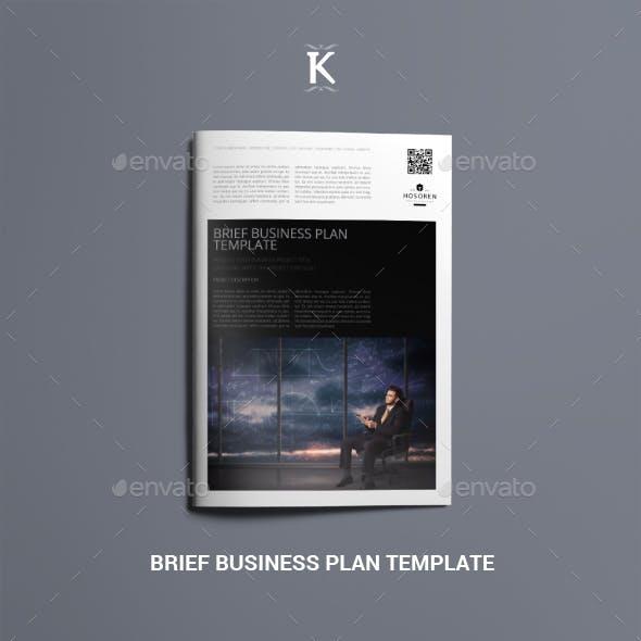 Brief Business Plan Template
