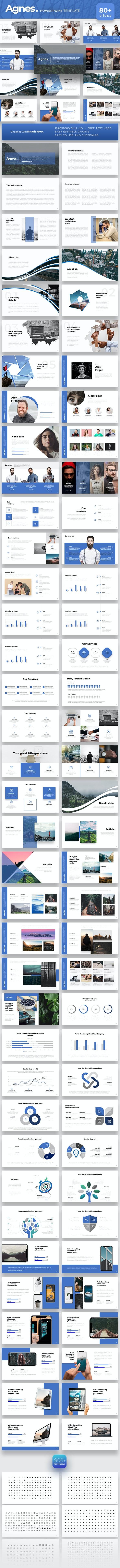 Agnes Powerpoint Template - PowerPoint Templates Presentation Templates