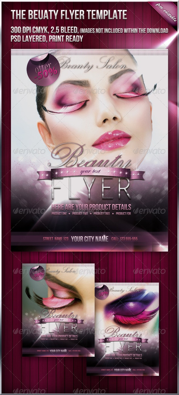 Beauty Fashion Flyer - Clubs & Parties Events