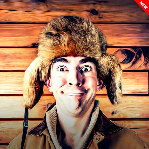 Cartoon Art Photoshop Action