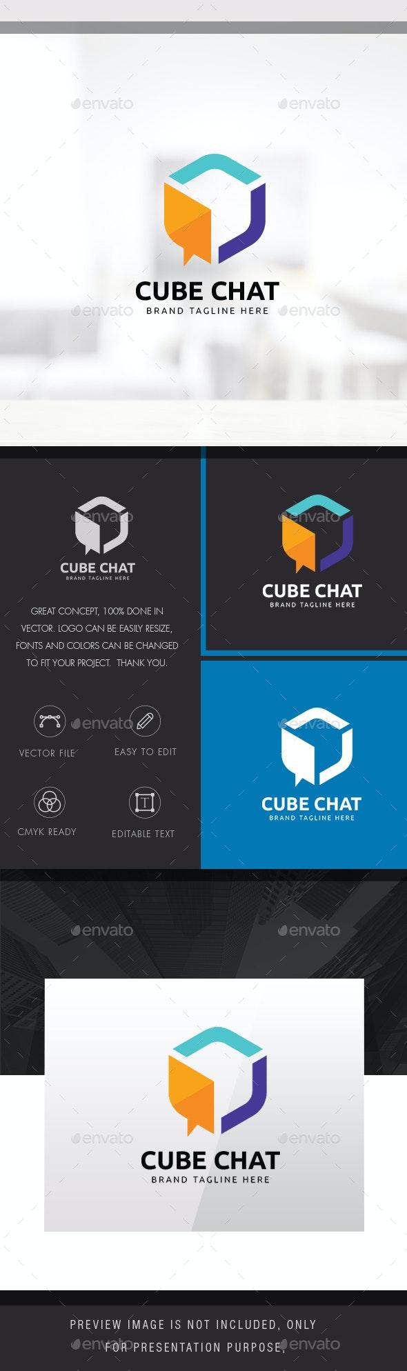 Cube Chat Logo