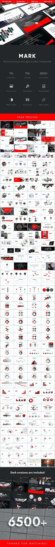Mark Multipurpose Google Slides Template - Google Slides Presentation Templates