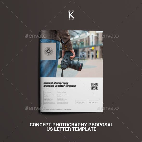 Concept Photography Proposal US Letter Template