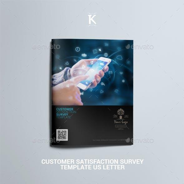 Customer Satisfaction Survey Template US Letter