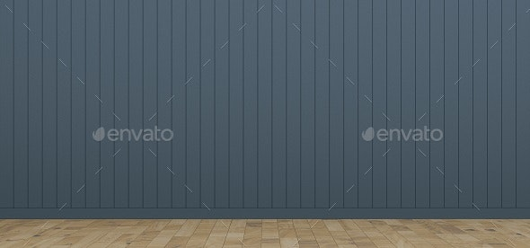Blue Room & Blue Background and Flooring - 3D Backgrounds