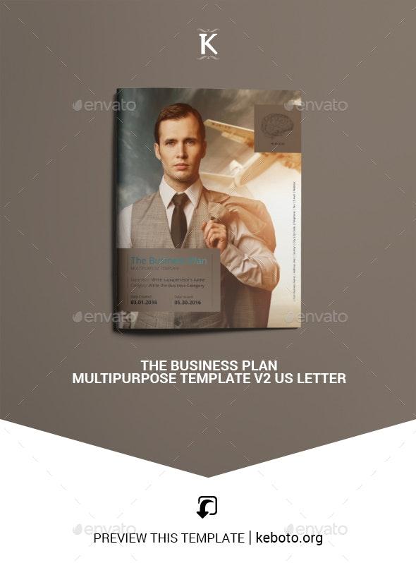 THE Business Plan - Multipurpose v2 US Letter - Miscellaneous Print Templates
