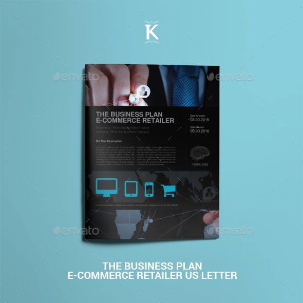 THE Business Plan eCommerce Retailer US Letter