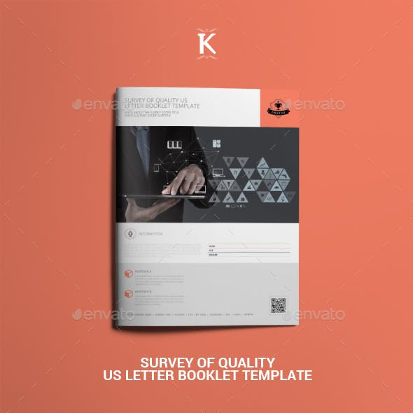 Survey of Quality US Letter Booklet Template