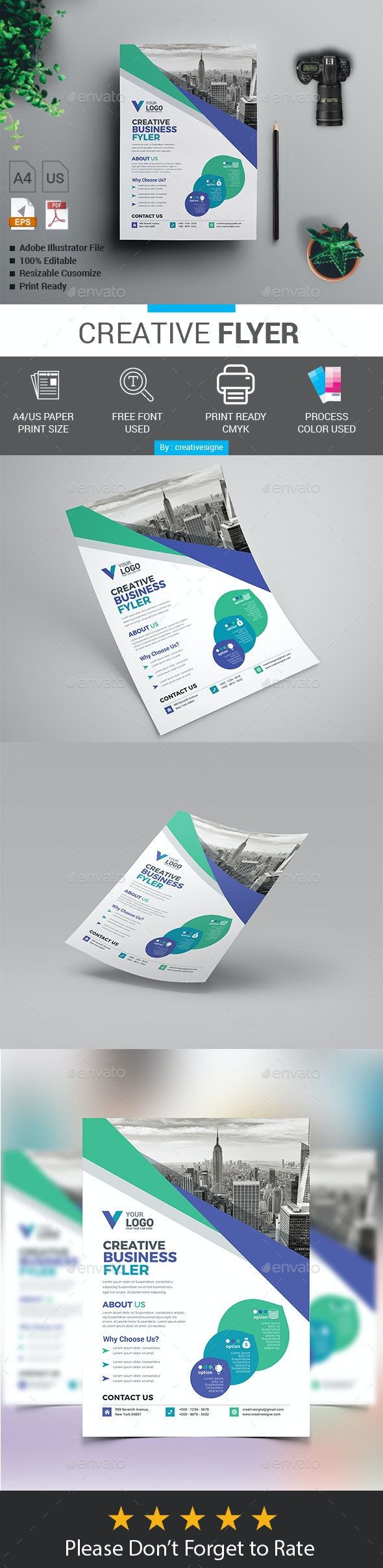 Creative Flyer - Flyers Print Templates