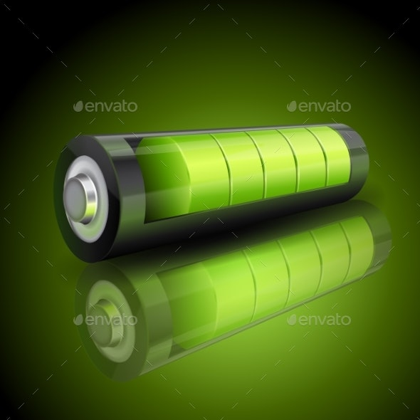 Green Battery Charging Status - Computers Technology