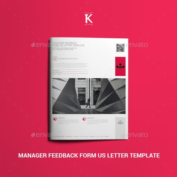 Manager Feedback Form US Letter Template