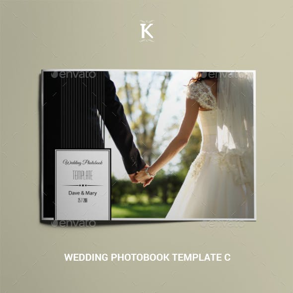 Wedding Photobook Template C