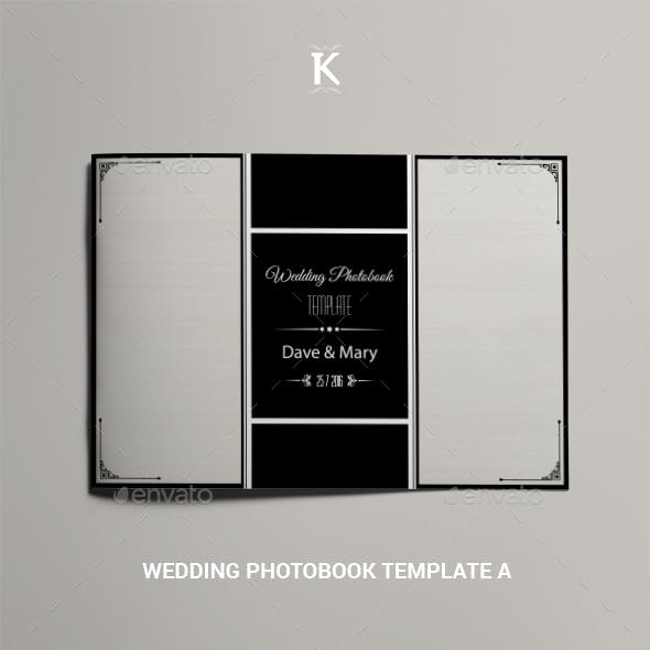 Wedding Photobook Template A