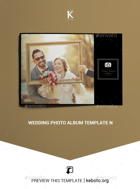 Wedding Photo Album Template - Photo Albums Print Templates