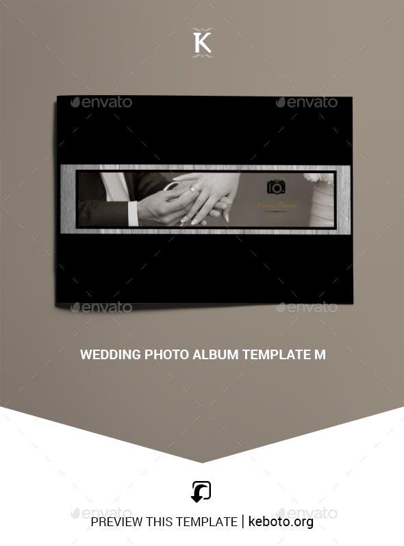 Wedding Photo Album Template M