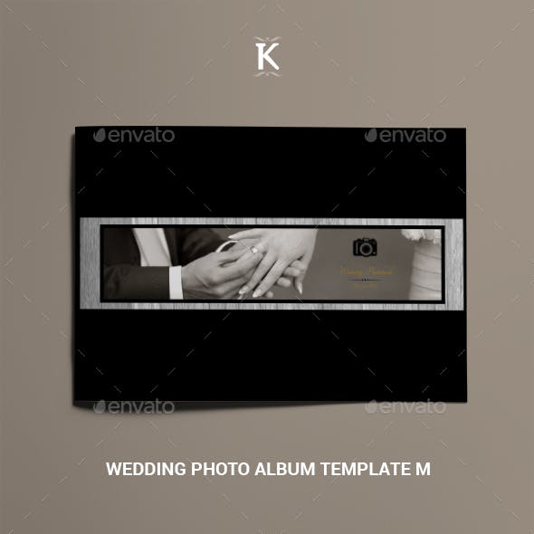 Wedding Photo Album Template M