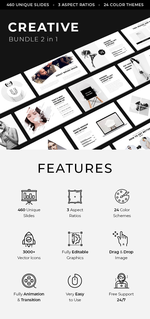 Creative Keynote Bundle 2019 - Creative Keynote Templates