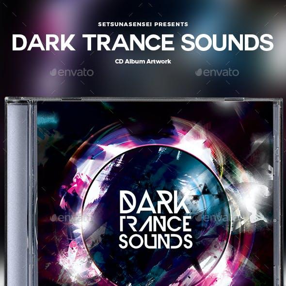 Dark Trance Sounds CD Album Artwork