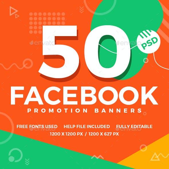Facebook Multipurpose Banners