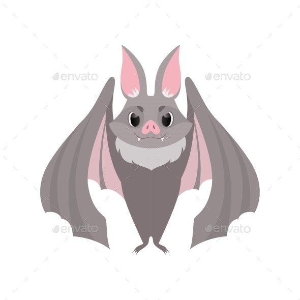 Gray Bat - Animals Characters
