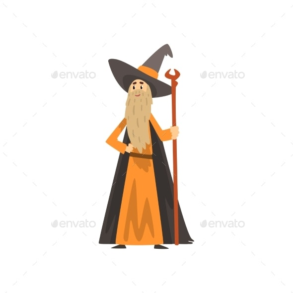 Man Dressed As a Magician - People Characters