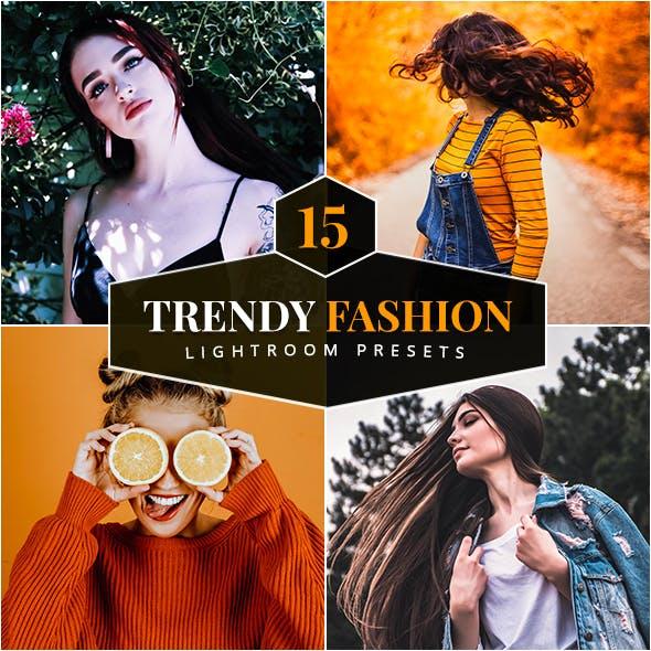 15 Trendy Fashion Lightroom Presets