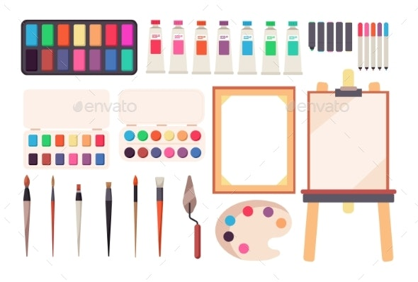 Painting Tools - Man-made Objects Objects
