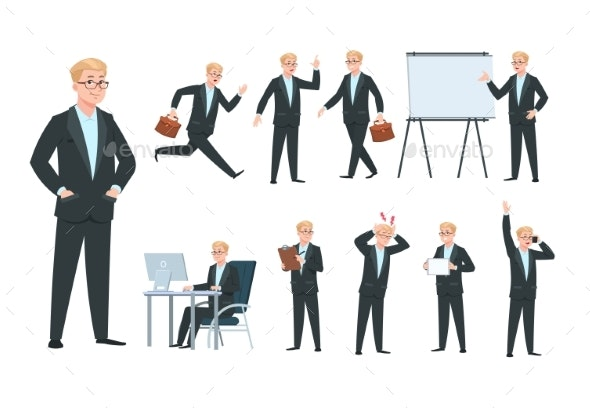 Business Person - People Characters