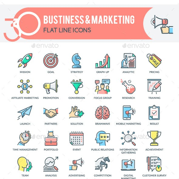 Business & Marketing Icons