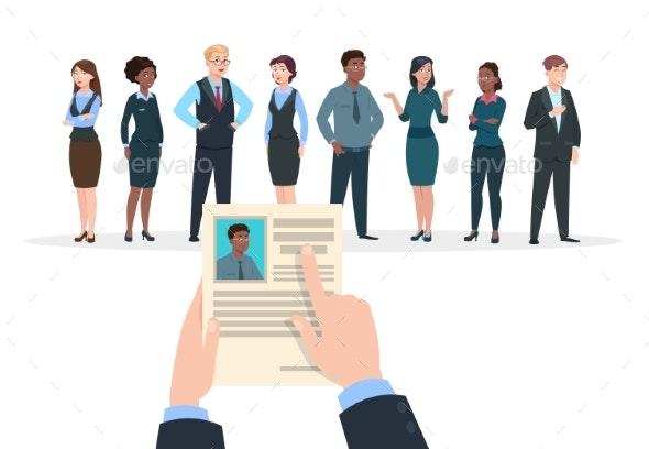 Recruitment Concept - Concepts Business