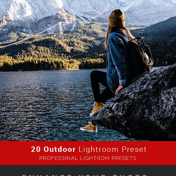 20 Pro Outdoor Lightroom Preset