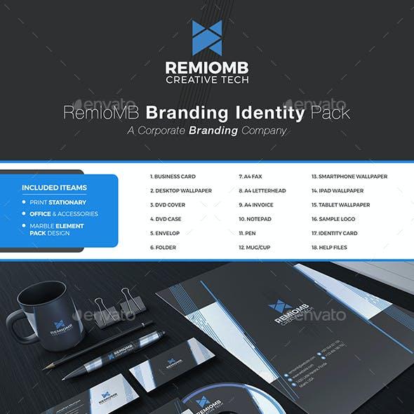 Remiomb Branding Stationary Identity