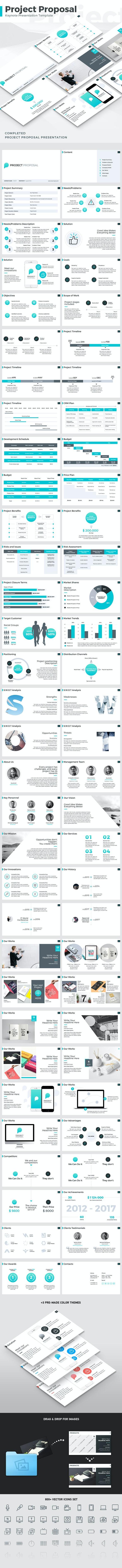 Project Proposal - Keynote Template - Business Keynote Templates