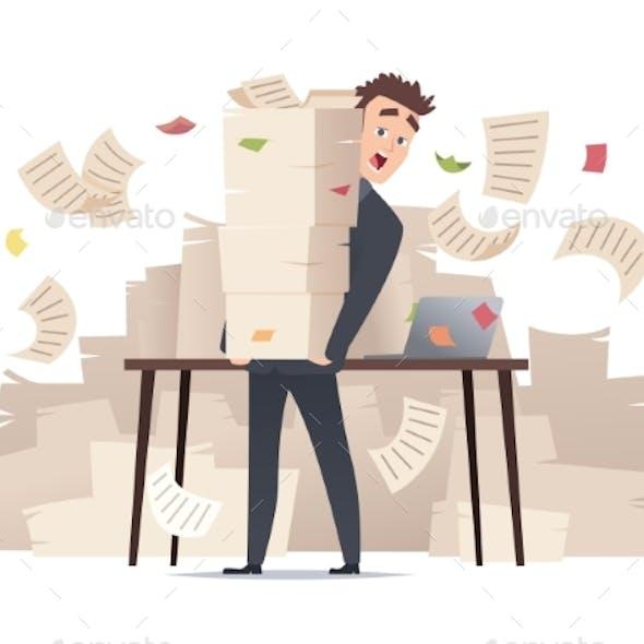 Workload Businessman