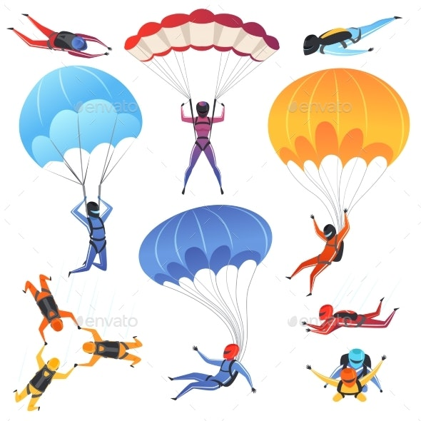 Extreme Parachute Sport - Sports/Activity Conceptual
